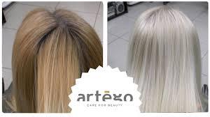 Осветление <b>крем краской</b> ранее окрашенных <b>волос</b>. Блонд БЕЗ ...