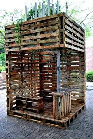 make a covered or sheltered sitting area in your patio by using wooden pallets upcycled furniture for patio beautiful wood pallet outdoor furniture