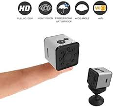 QQW Mini WiFi Night Vision Camera <b>Small Aerial</b> HD 1080P ...