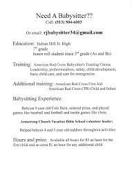 babysitter resume sample best business template resume babysitter resume format pdf regard to babysitter resume sample 3584