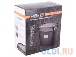 <b>Шредер Office Kit S45 2x9</b> (DIN P-5 T-5) фрагмент 2x9мм, 6 ...