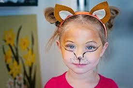 kid <b>costume</b> // easy homemade <b>fox costume</b> & makeup for a little <b>girl</b> ...