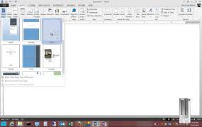 how to insert a cover page in microsoft word  how to insert a cover page in microsoft word 2013