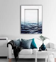 <b>Картина с арт рамой</b> Вода 45 х 55 см