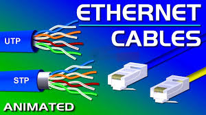 Ethernet <b>Cables</b>, <b>UTP</b> vs STP, Straight vs Crossover, CAT 5,5e,6,7,8 ...
