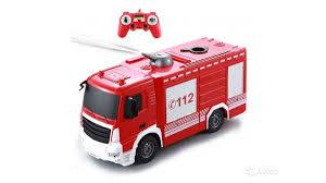 <b>Радиоуправляемая пожарная машина Double</b> E 1:26 купить в ...