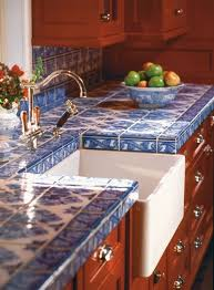 diy tile kitchen countertops: handmade tiles in kitchen i would love to make my own tiles for the kitchen i hadnt thought about replacing the countertops with tiles what a fun idea