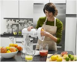 stand mixer slow juicer attachment  kitchenaid citrus in use popup