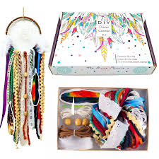 Creative <b>Colorful DIY</b> Dream Catcher Kit for Girls or Boys