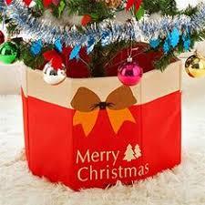 <b>Non</b> Voven <b>Christmas</b> Tree Foot Box <b>Christmas Tree Skirt</b> ...