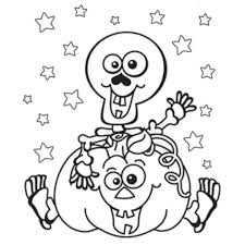 Small Picture gallery of halloween coloring page kindergarten halloween coloring