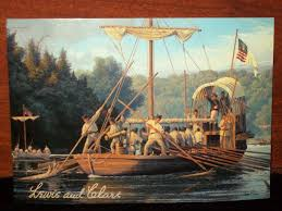 nicolainiko what i see page  lewis clark depart from the woods river
