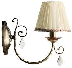 Купить <b>Настенный светильник Arte Lamp</b> Vivido A6021AP-1AB по ...