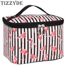 Aliexpress.com : Buy <b>New</b> Flamingo <b>Cosmetic Bag</b> Necessaire ...