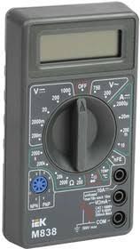 <b>Мультиметр</b> цифровой <b>Universal M838 ИЭК</b> TMD-2S-838 | купить ...