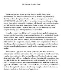 essay how to be a good english teacher  essay