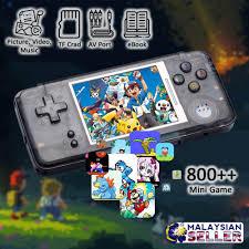 Ville <b>Retro</b> Handheld Game Console 3Inch Screen <b>800in1 Classic</b> ...
