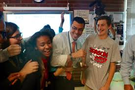 gregory balan from varsity lakes middle school is a golden apple richard r o a english language arts and robotics teacher from north fort myers academy
