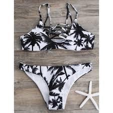 <b>Palm</b> Tree Criss Cross <b>Bikini</b> - Polyvore