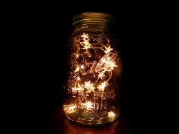zoom blue mason jar string lights
