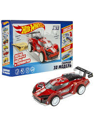 "Модель <b>3D</b> для сборки ""Hot Wheels"" Super Blitzen. <b>1Toy</b> 10612275 ..."