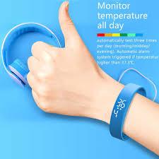 <b>Temperature Measuring Smart Bracelet</b> Fever Monitor Health ...