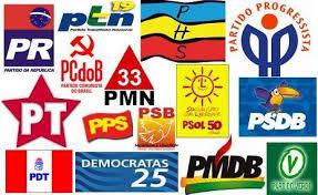 Resultado de imagem para banner com logomarca de partidos políticos