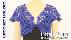 Crochet ipheion <b>stitch lace</b> motif bolero - YouTube