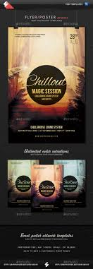 chillout magic session event flyer template by sao108 graphicriver chillout magic session event flyer template clubs parties events