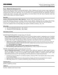 marketing resume objectives examples  marketing director resume    marketing sales representative resume