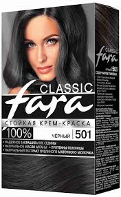 <b>Краска</b> д/<b>волос Fara</b> тон 501 черный: купить в Санкт-Петербурге ...