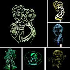 Wholesale <b>2017</b> Cartoon Figure 3D <b>USB</b> LED Lamp Minion <b>Bowl</b> ...