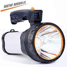 CSNDICE 35W <b>Bright Rechargeable</b> Searchlight handheld, <b>LED</b> ...