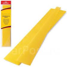<b>Цветная</b> бумага креповая, 50*200см, желтый, <b>Brauberg</b>, , 124728 ...