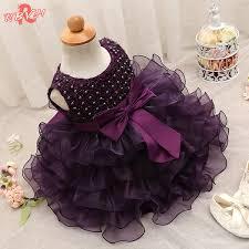 2019 Trendy <b>Baby Girl Baptism</b> Clothes Tulle <b>Lush</b> Dress For Girl ...