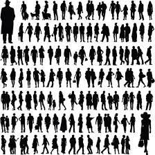 Different people <b>silhouettes creative</b> design   <b>Silhouette creative</b> ...