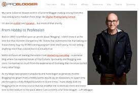 of the best about us pages on the internet darren rowse has one of the most popular about us pages on the internet why because a lot of people go to his website to out how to actually write an