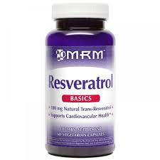 <b>Resveratrol 100MG</b>, MRM - <b>60</b> cápsulas - Em Suplementos