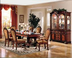 walnut cherry dining:  chateau de ville dining table in cherry w options by acme