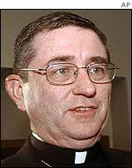 Richard Lennon has been named temporary head of the troubled archdiocese - _38589477_lennon_ap150