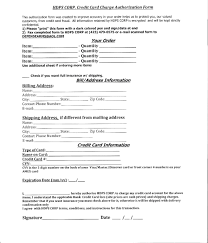 card authorization to charge credit card template image of authorization to charge credit card template