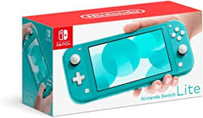 Nintendo Switch Lite - Turquoise: Electronics - Amazon.com