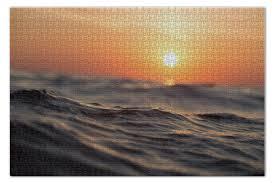 <b>Пазл 73.5</b>×<b>48.8 см</b> (1000 элементов) Закат в море #2429157 от ...