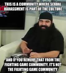 """Thinks sexual harassment is an """"integral"""" part of the Fighting ... via Relatably.com"""