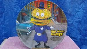 McDonald`s Collector Plate BIG <b>MAC COP</b>