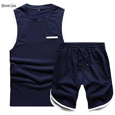 Europe Size <b>Men</b> Short Set <b>Summer</b> Masculino Tops+Shorts Sets ...