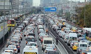 Trafiğe kayıtlı araç sayısında artış