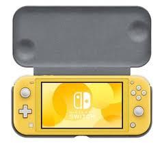 <b>Чехол</b> с крышкой и <b>защитная пленка</b> для Nintendo Switch Lite ...