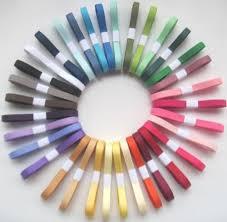 "3/<b>8</b>"" Grosgrain Ribbon~<b>Lot</b> of 70 <b>yards</b> solid colors~2 <b>YARDS</b> EACH ..."