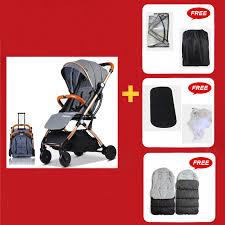 <b>Baby Stroller Plane Lightweight</b> Portable Travelling Pram Children ...